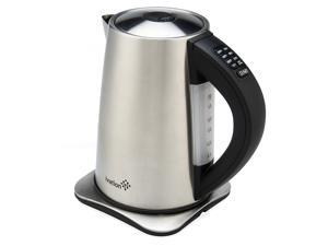 Ivation 1.7 Liter(7-Cup) Precision-Temp Stainless Steel Cordless Electric Tea Kettle&#59; 6 Preset Heat Settings&#59; Auto Keep-