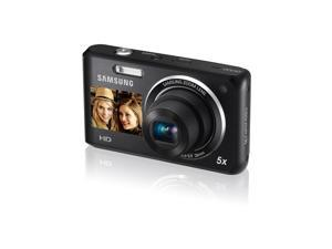 Samsung DV101 Dual View Digital Camera - 16mp - 5x Optical Zoom - Black