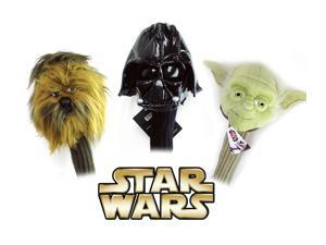 3pc Star Wars Collector Series 460cc Driver Golf Head Cover Set