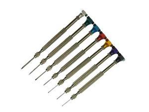 Precision Jewelers Flat Tip Screw Driver Set