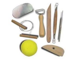 8 Tool Clay Molding Set