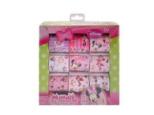 150pc Disney Minnie Mouse 9 Roll Sticker Box Set