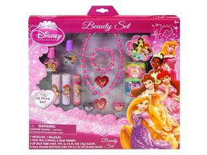 16pc Disney Princess Girls Hair Accessory Beauty Set