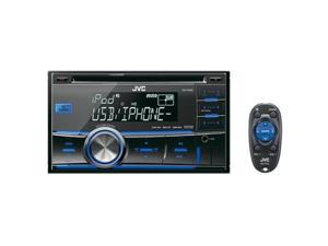 JVC 2-DIN USB/CD Receiver with Dual AUX