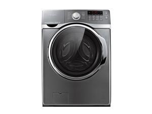 "27"" Front-Load Washer with 4.0 cu. ft. Capacity, 15 Wash Cycles, 9 Options, 5 Temperature Settings, PowerFoam, Steam Washing ..."