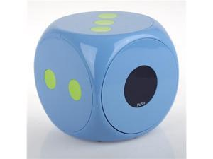 Merax Multimedia CD/DVD Desktop Storage, Dice Design, Blue, 60 Disc Capacity