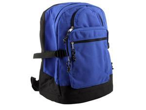 Merax School Backpack, Poly Cord, Royal/Black