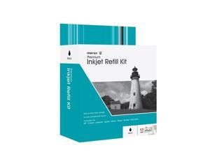 Merax Black Inkjet Refill Kit (Refills 3-10 black inkjet cartridges depending on the cartridge type.)