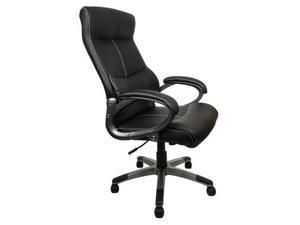 Merax Leather Office Chair HLC-0301, Black