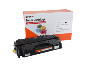 Merax Compatible High Yield Black Toner Cartridge for HP CE505X (05X, CE 505, HP05X, HP 05, HP05)