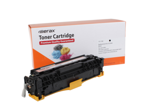 Merax Compatible Black Toner Cartridge for HP CC530A (304A)