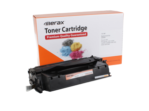 Merax Remanufactured High Yield Black Toner Cartridge for HP Q5949X (49X, 5949, HP49X, HP 49, HP49)