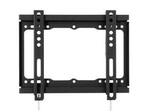 "Loctek 17""-37"" Fixed Wall Mount Bracket for LED LCD Plasma TV, Max. 44 lb (PSW698SSF)"