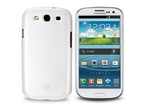 iShell Classic Series Hard Cover for Galaxy S3 -- Pearl White