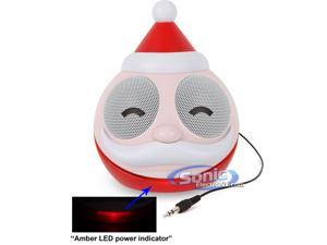 Battery/USB Powered Santa Claus Portable Speaker