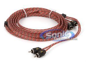 Stinger 15 Foot 4000 Series Professional 2 Channel RCA Interconnects