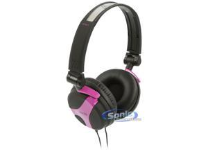 AKG K518 LE FSH (K518LEFSH) Limited Edition On-Ear DJ Headphones - Fuschia/Purple