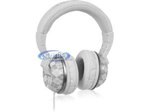 Kicker HP402W CUSH Full-Size Headphones (White)