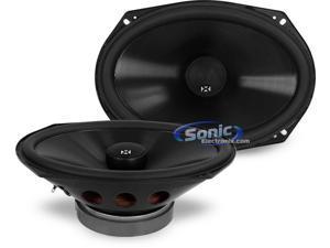 """NVX VSP69 6"""" x 9"""" V-Series Coaxial Car Audio Speakers"""