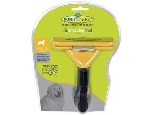 Furminator Long Hair Large Dog deShedding Tool for Dogs 51-90Lbs