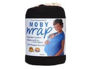 Moby Baby Wrap in Black