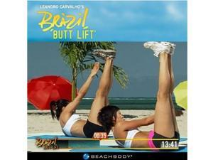 Brazil Butt Lift 3 DVD Workout System by Leandro Carvalho