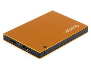 "ORICO 2595SUS3 -OR Tool Free Full Aluminum 2.5 "" SATA to USB 3.0 & eSATA 2.5"" SATA Hard Drive External Enclosure"
