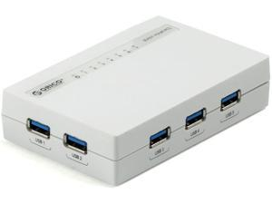 Orico H7988-U3-WH 7-Port USB3.0 Hub - White