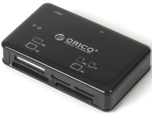 ORICO 8566C3-BK All-in-One USB 3.0 Super Speed Card Reader / Writer / Adapter - Black