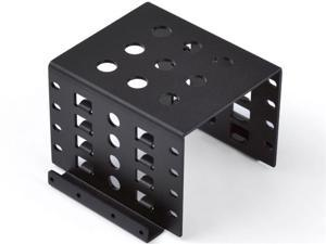 "ORICO Full Aluminum 4 Bay 3.5"" to 2.5"" HDD / SSD Mounting Bracket kit 2.5 "" to 3.5 "" Bay Convert Adapter"