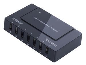 ORICO UCHA BK 1.2 Rapid Charging 5V12A 60 Watts 7 Port USB Charger HUB