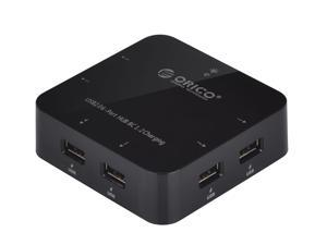 BC 1.2 ( USB Battery Charging 1.2 Specification ) Compatible ORICO UCHA Rapid 5V 7.2 Amps 36 Watts 6 Port USB Charger HUB