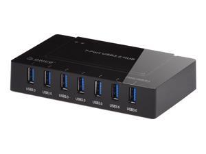 ORICO H9978-U3 7-Port USB 3.0 SuperSpeed Hub with 36W Power Adapter - VIA VL812 Chipset - Windows, Mac OS X, and Linux Support ...