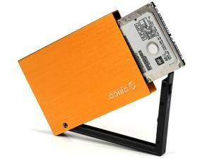 ORICO 2595SUS-OR USB 2.0 To 2.5-Inch e-Sata Aluminum Hard Drive Enclosure Case