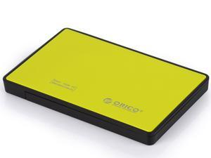 ORICO 2588US3 -OR 2.5 inch SATA USB3.0 Tool Free Hard Drive External Enclosure 7-9.5mm Supported