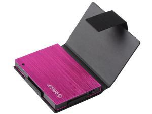 ORICO 25AU3-FU External USB 3.0 to 2.5-Inch SATA Aluminum Hard Drive Enclosure Case w/ Exclusive Sleeve - Pink
