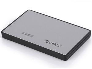 ORICO 2588US3 -SV Tool Free USB3.0 2.5 inch SATA External Hard Drive Enclosure