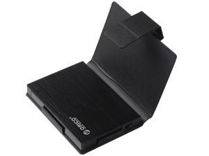 ORICO 25AU3-BK External USB 3.0 to 2.5 - Inch SATA Aluminum Hard Drive Enclosure Case With Exclusive Sleeve - Black
