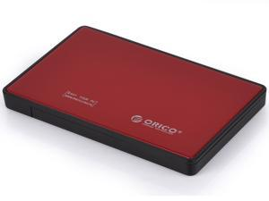 ORICO 2588US3 Tool Free Screw-Less USB 3.0 2.5-inch SATA External Hard Drive Enclosure Adapter Case for HDD SSD SATA Drive ...