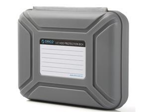 """ORICO PHX-35 -GY 3.5 """" Hard Disk Drive HDD Protector / Protective Box / Storage Case - Gray"""