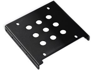 "ORICO AC325-1S -BK Full Aluminum 2.5 "" to 3.5 "" SATA & IDE Hard Drive / SSD Mounting Bracket Adapter , 3.5 "" to 2.5 "" Hard ..."