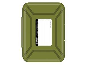 ORICO PHX-35 Professional Premium Anti-Static Hard Drive Protection Box for 3.5 Inch HDD Storage - Green