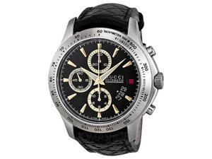 Gucci G-Timeless Black Dial Chronograph Mens Watch YA126237