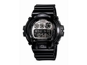 Casio G Shock Quartz Silver Dial Black Band - Men's Watch DW6900NB-1