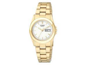 Citizen Quartz Gold Tone Stainless Steel Women's Watch - EQ0562-54A