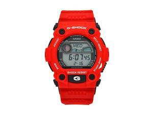 Casio G Shock Quartz Black Dial Red Band - Men's Watch G7900A-4