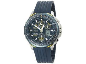 Citizen Eco Drive Blue Angels Skyhawk Chronograph Men's Watch - JY0064-00L