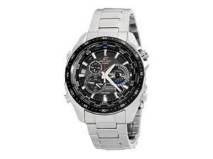 Casio Edifice Black Dial Men's Watch - EQS500DB-1A
