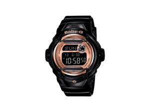 Casio Baby G Black Digital Dial Women's Watch - BG169G-1