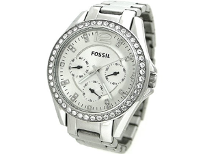 Fossil Riley Stainless Steel Bracelet Women's Watch - ES3202